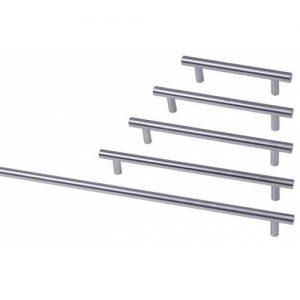 Round Bar Kitchen Handles Stainless Steel