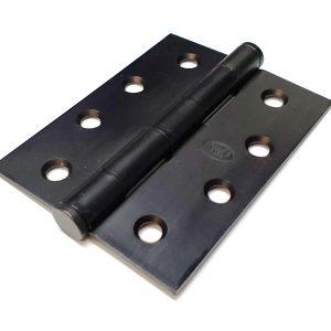 Black Butt Hinges 100x75x2.5mm