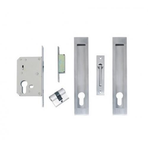 Lockable Long Sliding Door Flush Pull Handles Stainless Steel ...