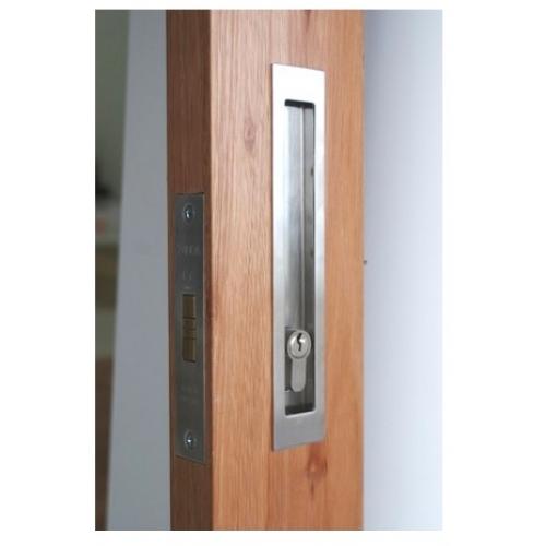 Lockable Long Sliding Door Flush Pull Handles Stainless