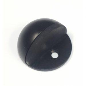 BLACK Floor mounted door stop