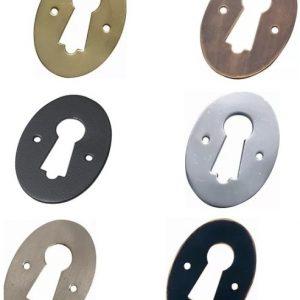 Old Style Key Escutcheons