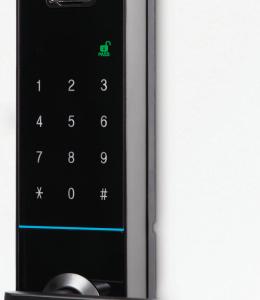 Schlage S-6800 Fingerprint Reader Digital Touch-Pad Lock
