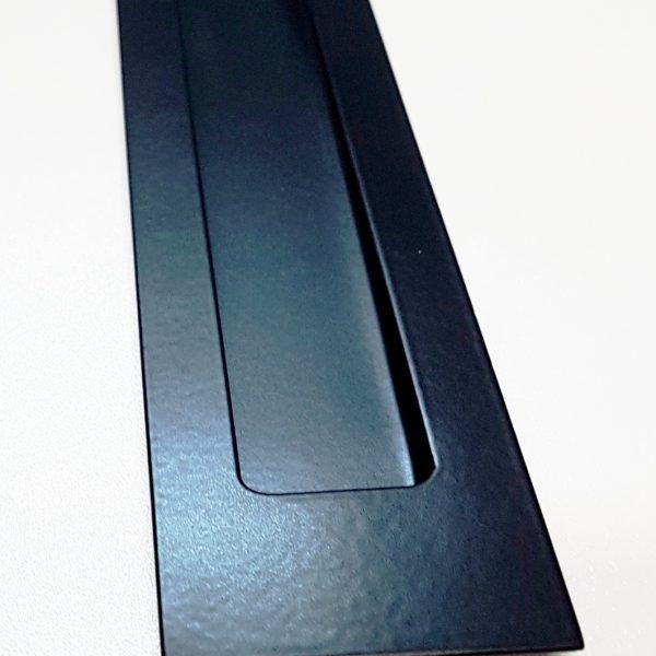 Large Black Sliding Door Flush Pull Lock And Handle
