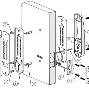 Mechanical Digital Carbine Lock CDL7