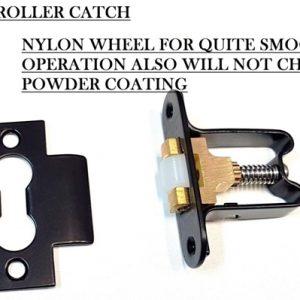 Black Heavy Duty Roller Catch